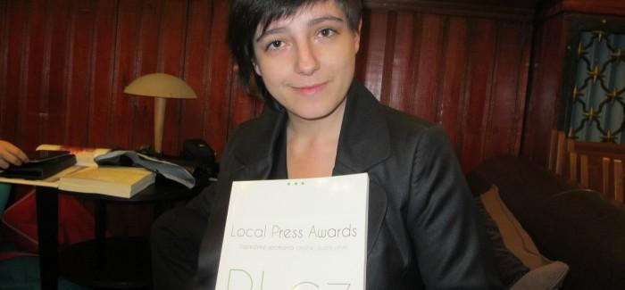 Nasza dziennikarka Justyna Małycha w ścisłej czołówce konkursu PL CZ Local Press Awards!