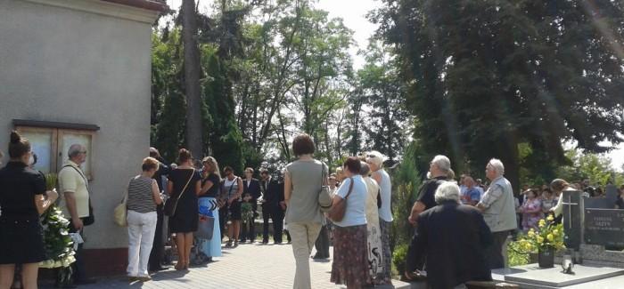Pogrzeb córki Grażyny Błęckiej-Kolskiej