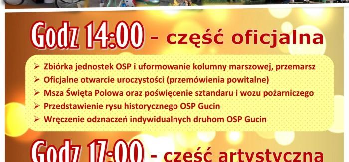 Jubileusz 60-lecia OSP Gucin