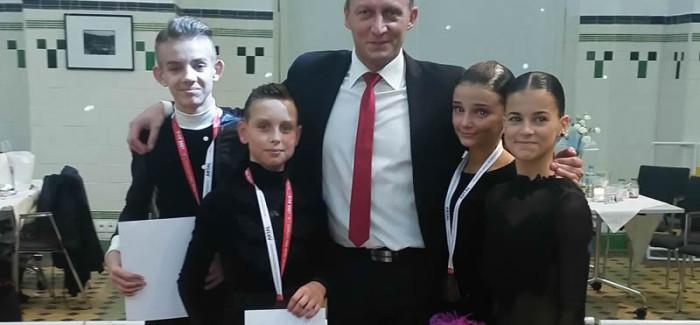 Sandra Tomczak i Jakub Szczepaniak piątą parą Mistrzostw Polski Juniorów Młodszych w tańcach latynoamerykańskich