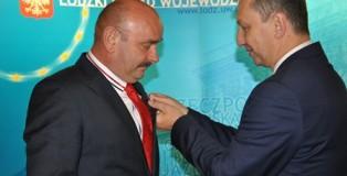 wójt gminy Buczek odznaczony