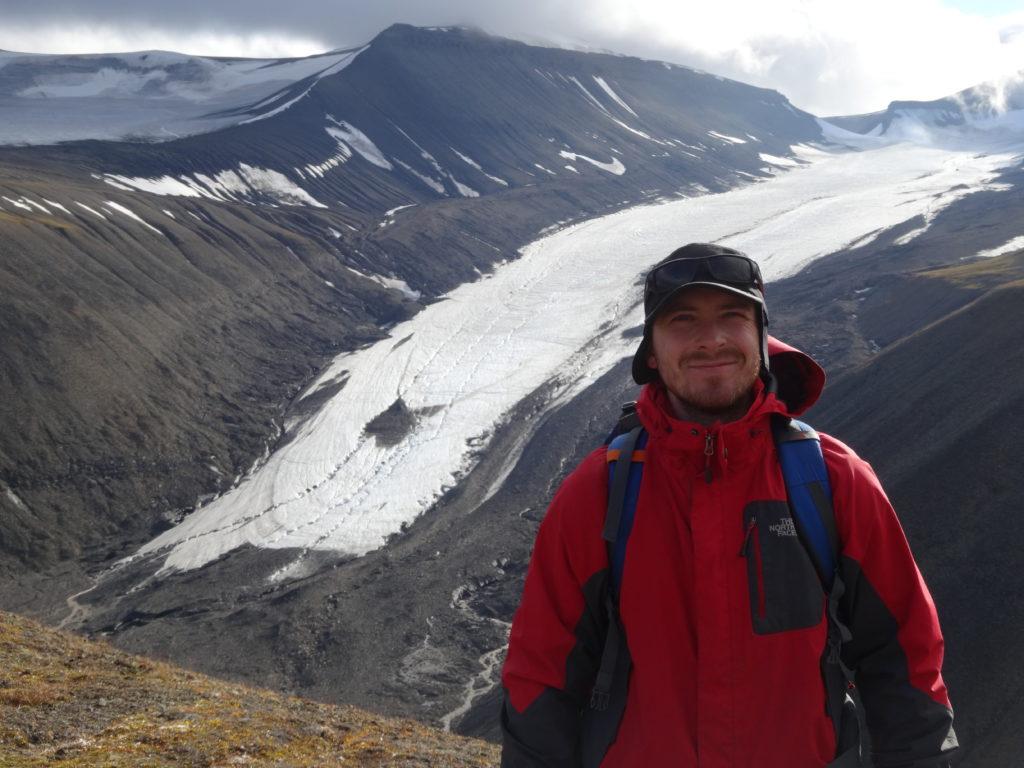 foto 5 - Na tle lodowca Longyearbreen- wywiad