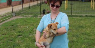 renata szafrańska i pies
