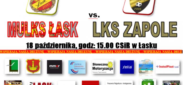 Zapraszamy na mecz MULKS Łask
