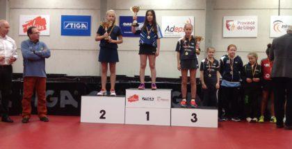 Wiktoria podium Belgia