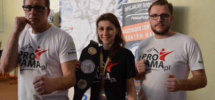 Karolina Kubiak obroniła tytuł Mistrzyni Polski w formule Kick Light!