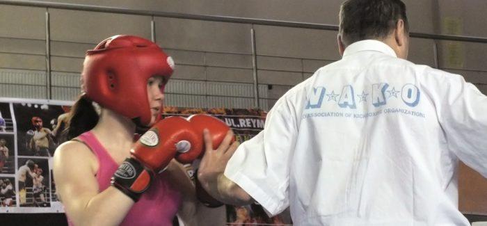 Jarka – mistrzyni Polski w kickboxingu