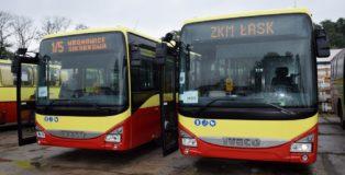 autobusy łask