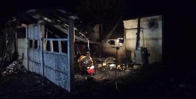 W pożarze zginął mężczyzna