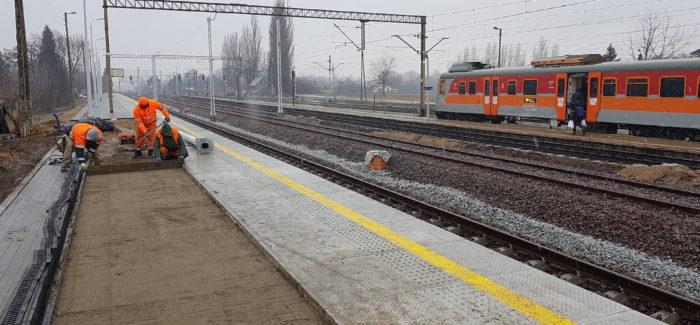 Nowe perony na dworcu