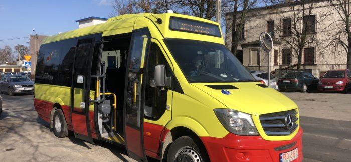 Nowoczesne busy przyjechały do Łasku