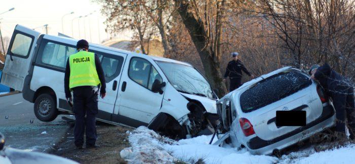 Poważny wypadek w Gorczynie.