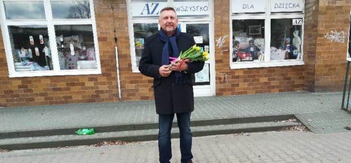Kwiatek od senatora, termy od wójta