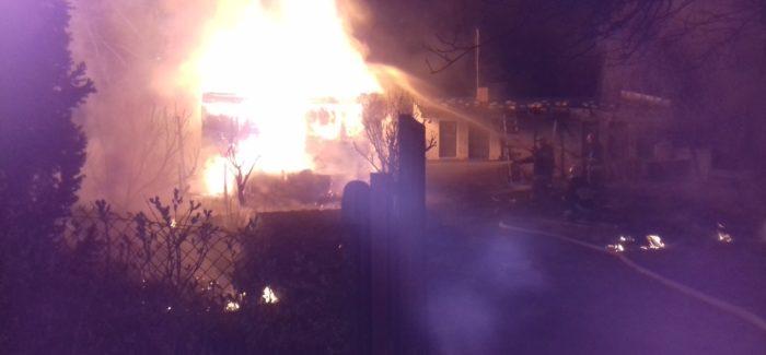 Tragiczny finał pożaru w Baryczy