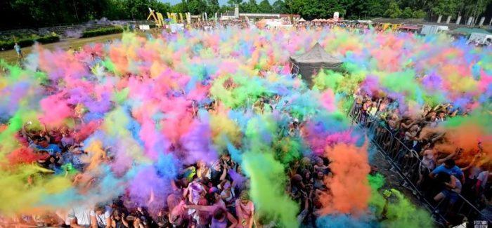 Eksplozja kolorów podczas Jarmarku Łaskiego