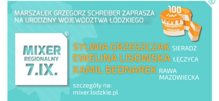 MIXER REGIONALNY ŁÓDZKIE 2019. Koncerty
