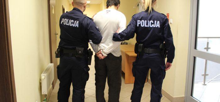 Czujny policjant po służbie złapał złodzieja!