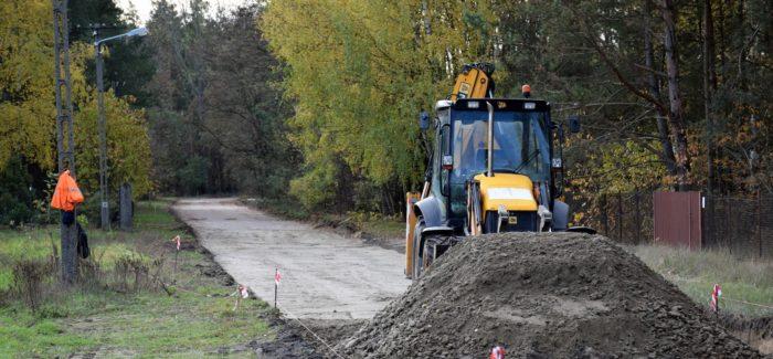 Ruszyła przebudowa drogi w Łopatkach i Zielęcicach