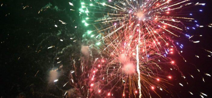 Nowy Rok w blasku fajerwerków