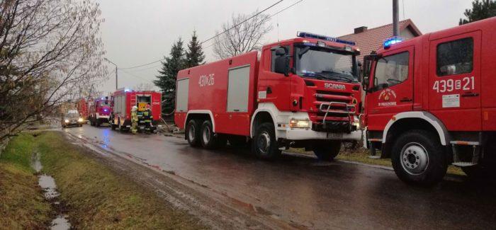 Tragedia w Rososzy. W pożarze zginął noworodek!