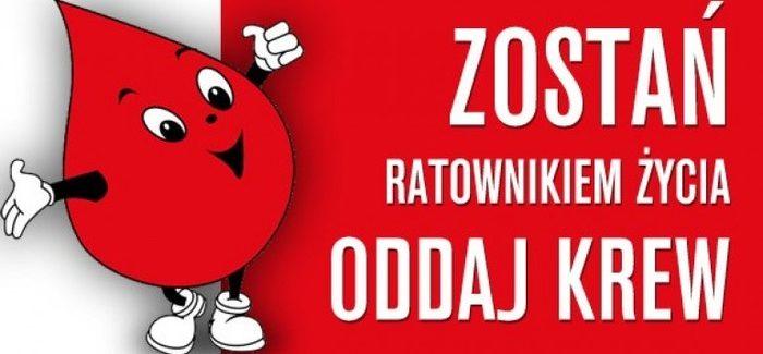 Oddaj krew. Uratuj życie!