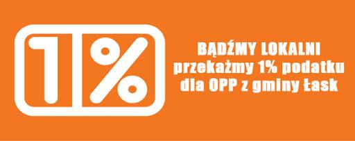Bądźmy lokalni – przekażmy 1% podatku dla OPP z gminy Łask